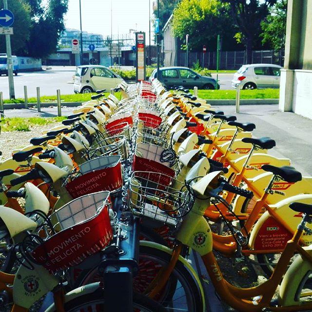 Prima stazione bike sharing per bambini a Milano