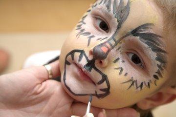 Halloween: trucco per bambini