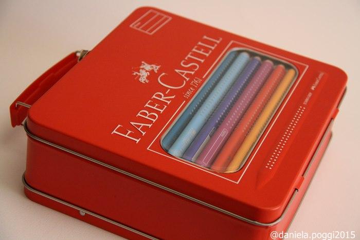 La valigetta metallica di Faber Castell