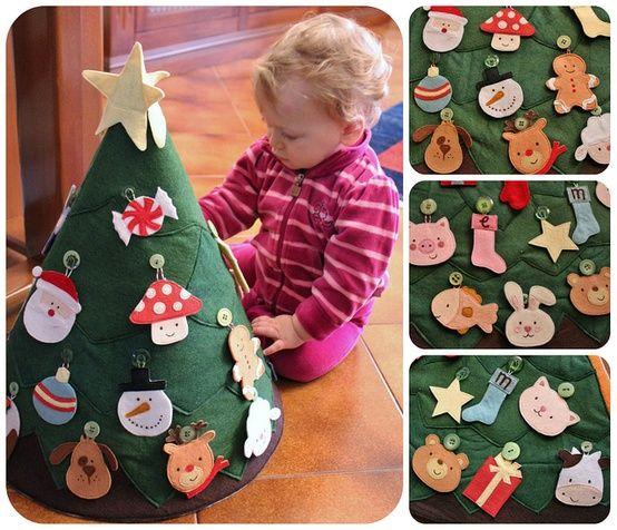Albero di Natale in stile Montessori