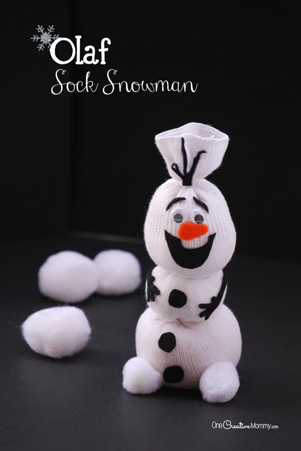 Come realizzare il pupazzo di Olaf
