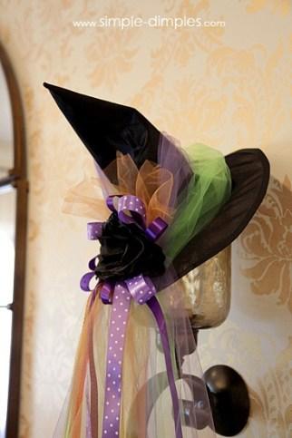 cappello da strega diy