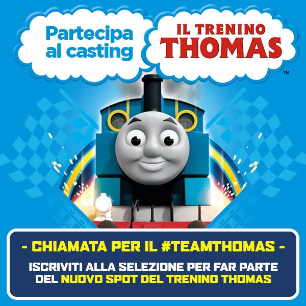 Trenino Thomas cerca te!