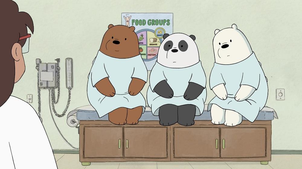 Nuovi episodi di We Bare Bears, Regular Show e Ben 10
