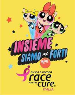 Cartoonito e Boing in Race for the Cure