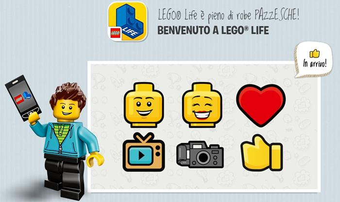 Lego Life: un mini social per bambini