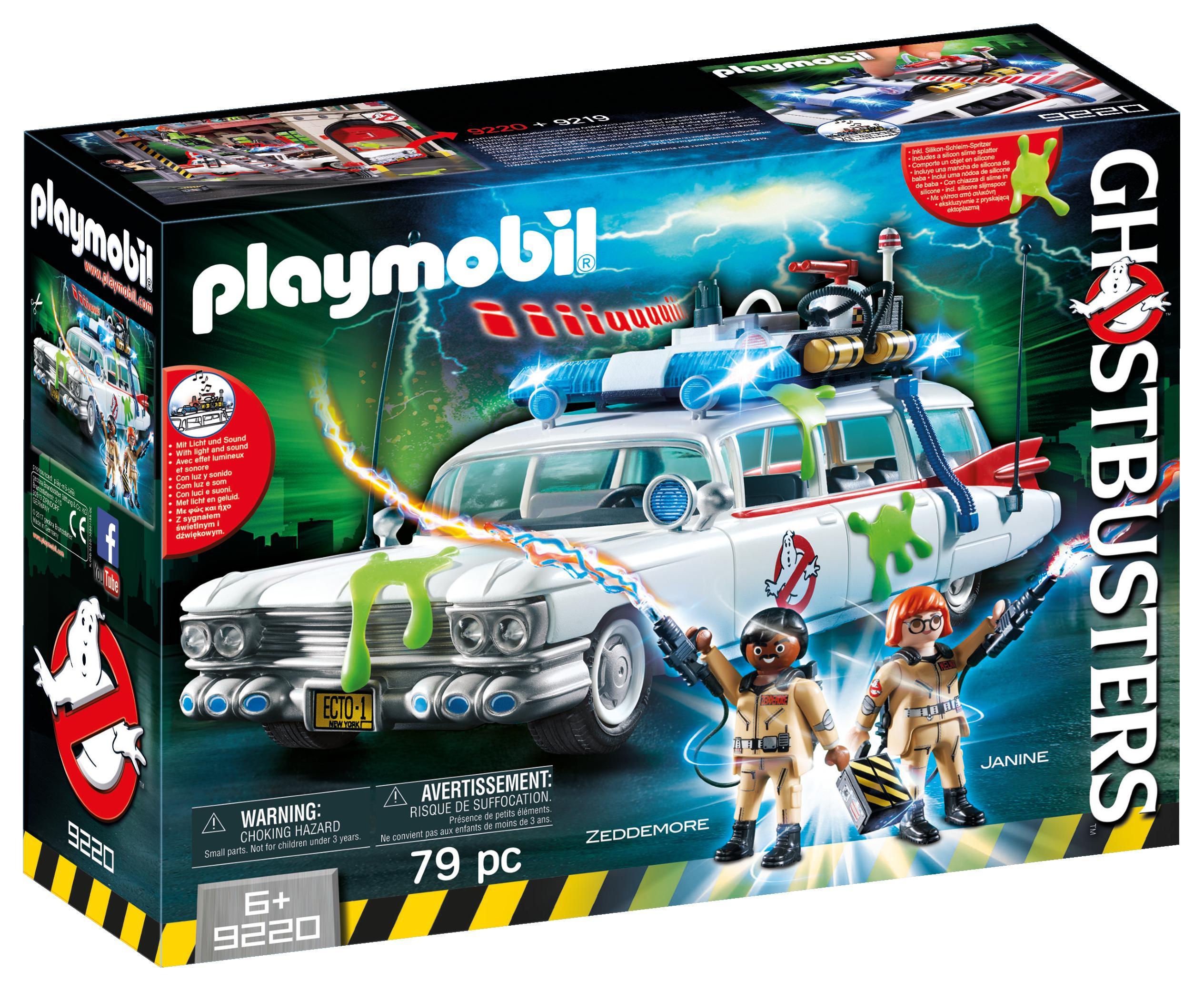 Con Playmobil si gioca a Ghostbusters