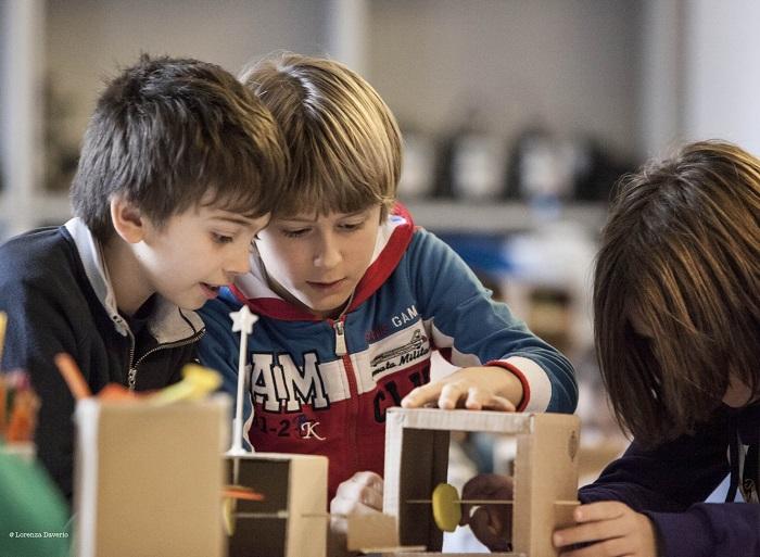 Laboratori MateMatti al Museo Nazionale della Scienza e della Tecnologia