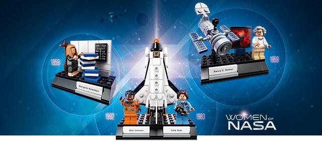 LEGO DONNE NASA
