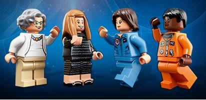 Lego celebra le donne della NASA