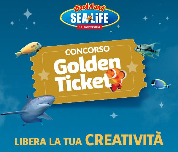 Vinci il Golden Ticket per Gardaland Sealife