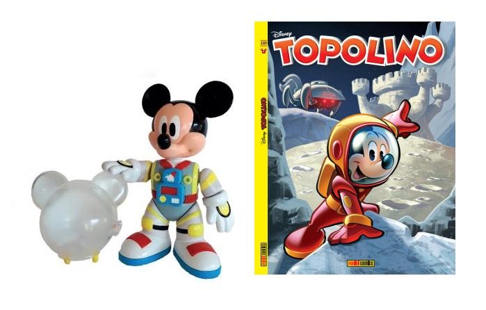 Topolino in versione Astronauta (in edicola)