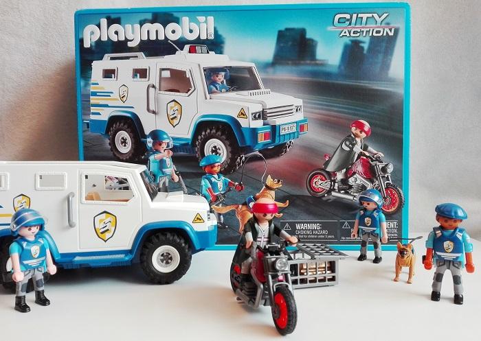 Nuove avventure con il Furgone Portavalori di Playmobil