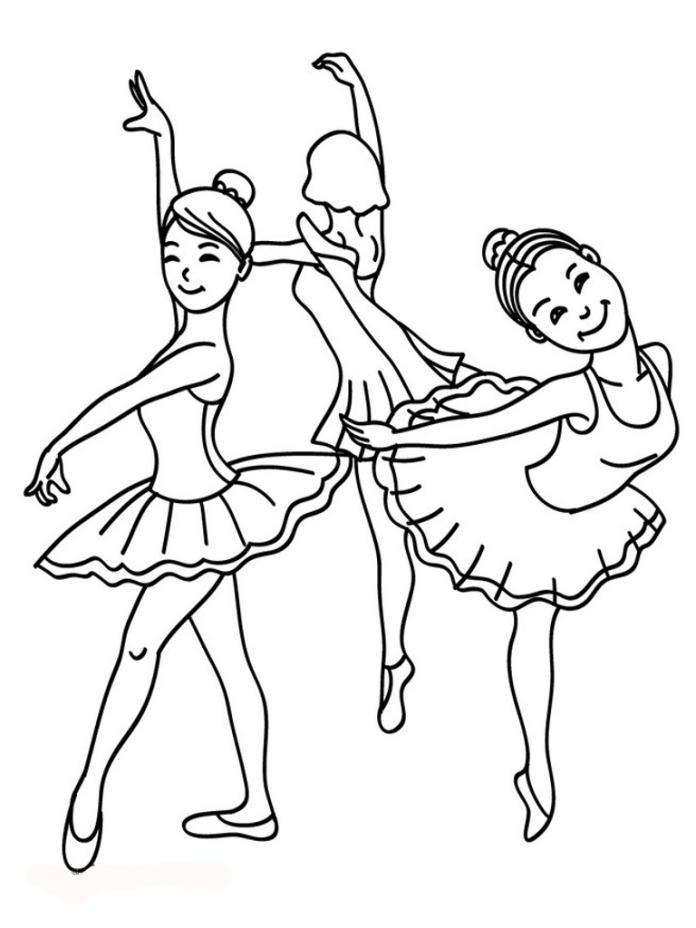 10 disegni da colorare barbie ballerina tecnogers - Barbie colorazione pagine libero ...