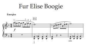 boogie woogie bladmuziek