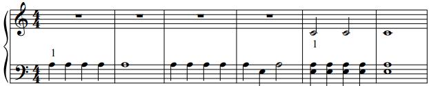 bladmuziek-voorbeeld