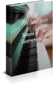 14 first piano classics bladmuziek