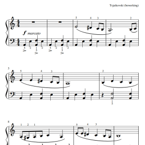 Marche Slave Music sheet PDF