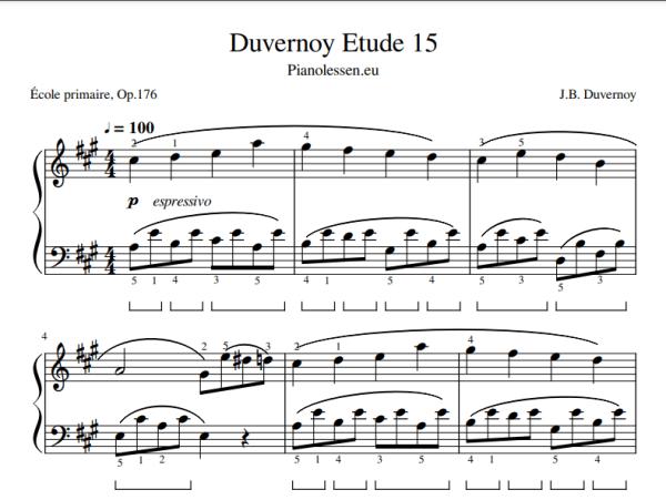 Duvernoy 15 PDF