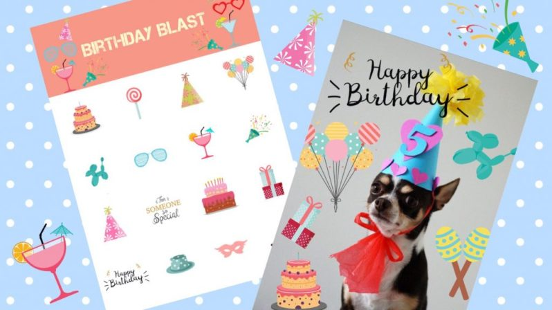 Everything You Need To Make the Perfect Birthday Card
