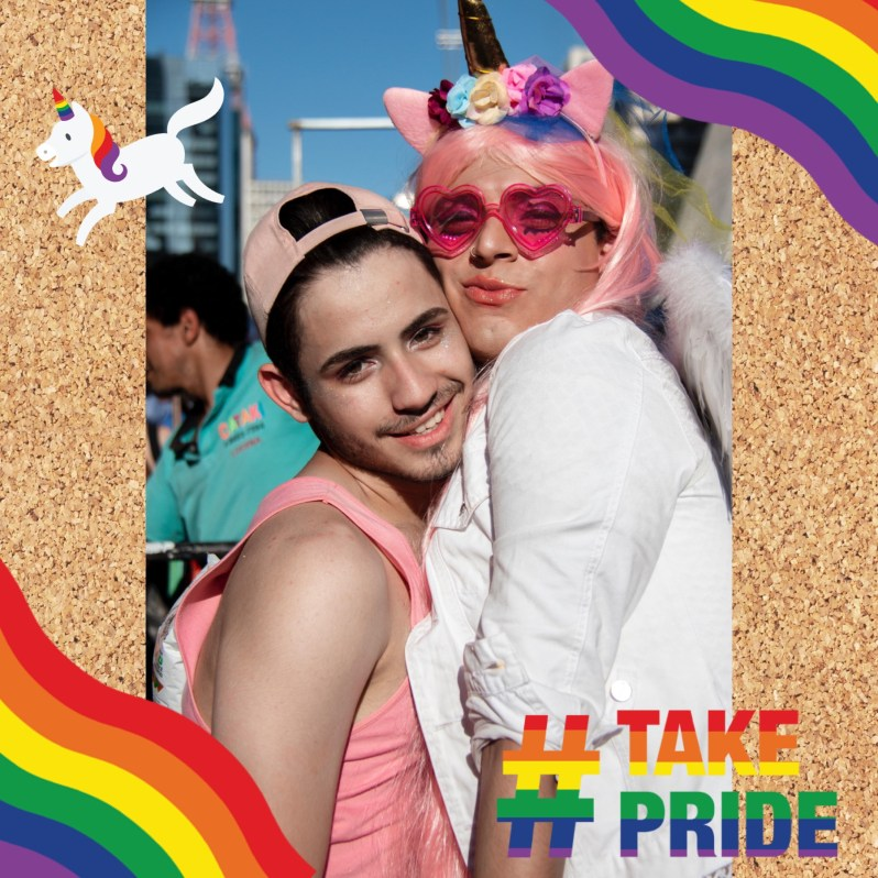 Celebrate Pride: Pride stickers