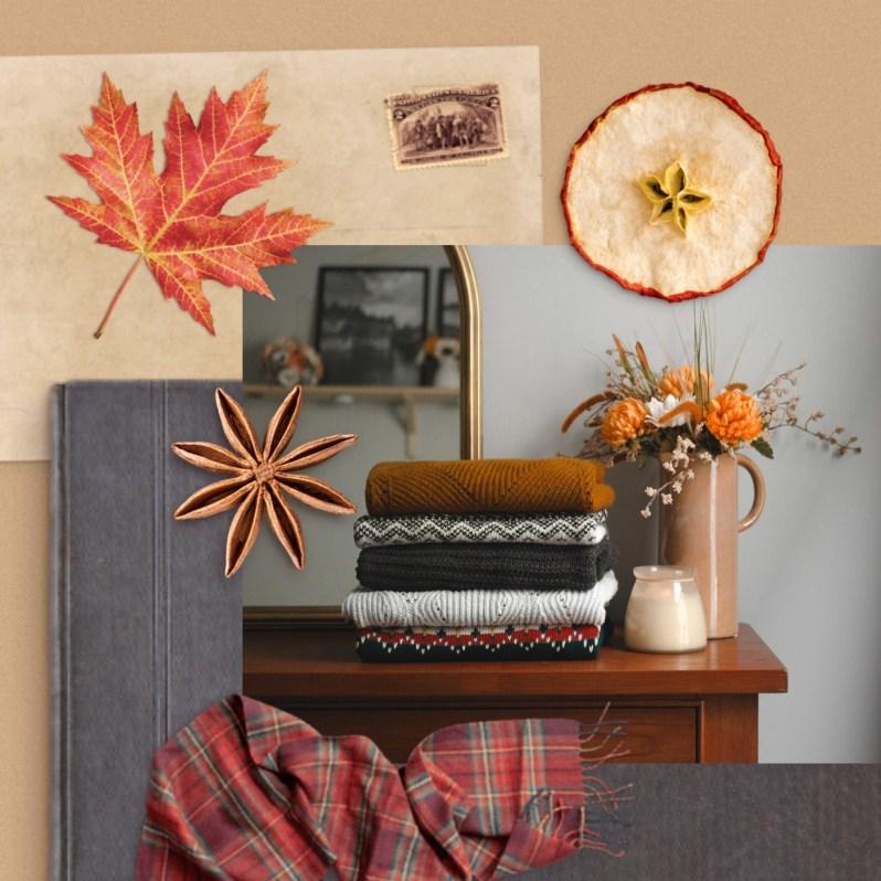 Fall Mood Board Inspiration - Realistic Fall Stickers