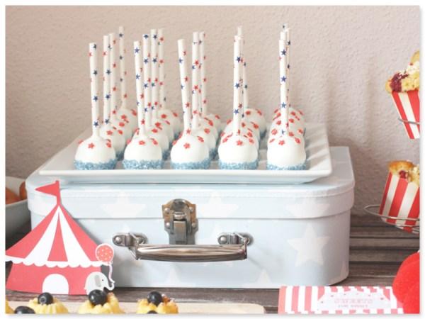 Zirkus Cake Pops