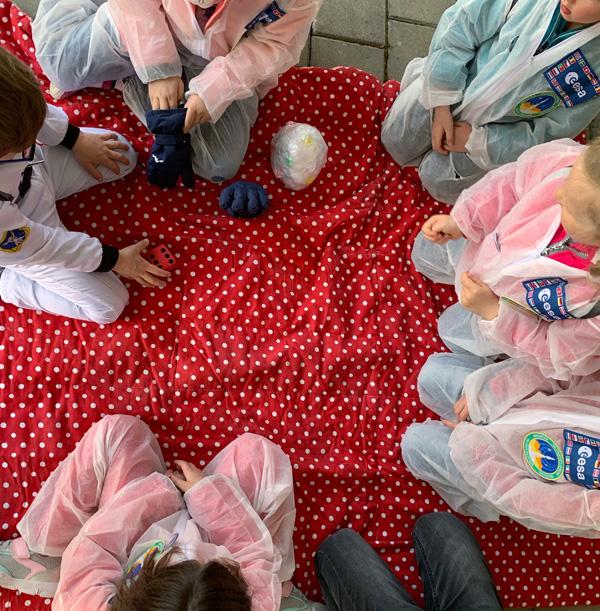 party spiele kindergeburtstag weltraumparty