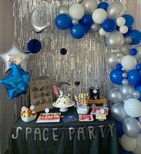 space party deko