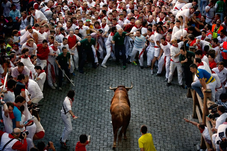 San Fermin - running of the bulls