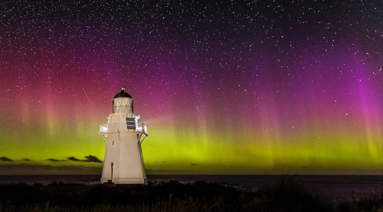 Southern Lights at The Catlins