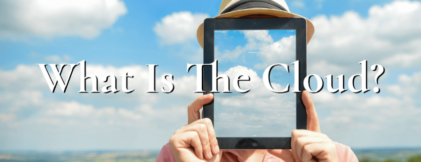 What is the Cloud? Blog banner