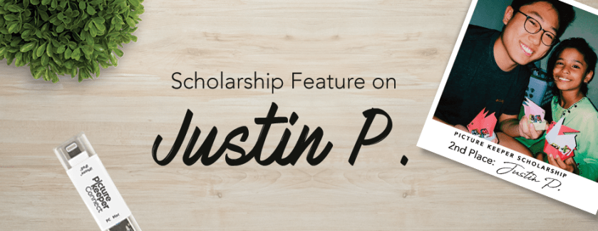 Second Place Scholarship Winner – Justin P.