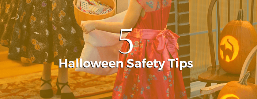 5 Halloween Safety Tips