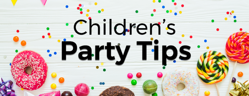Children's Party Tips white banner