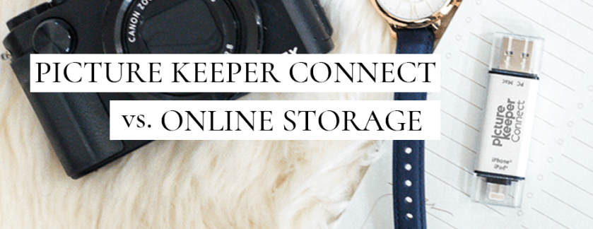 Picture Keeper Connect vs. Online Storage