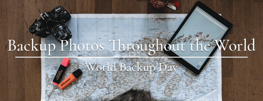 Backup Your Photos All Over The World
