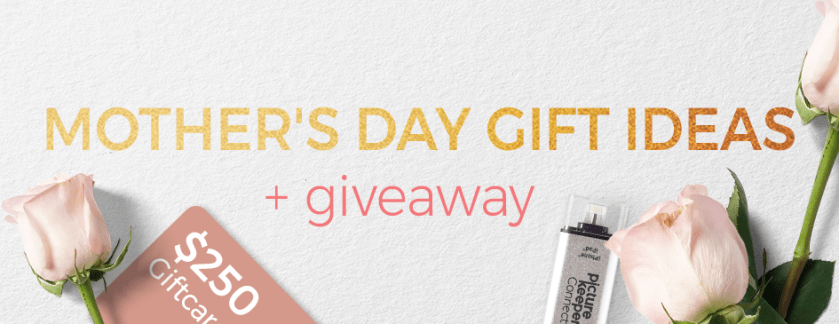 Mother's Day Gift Ideas + A Giveaway