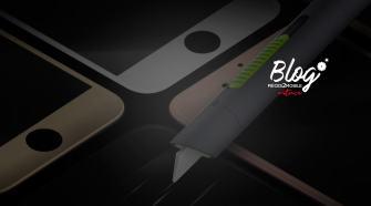 Effacer les rayures sur un écran iphone