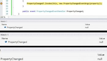 Trigger PropertyChanged of indexed property in Xamarin Forms