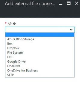 Azure Function External File API