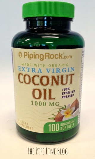Piping Rock Certified Organic Extra Virgin Coconut Oil Supplements
