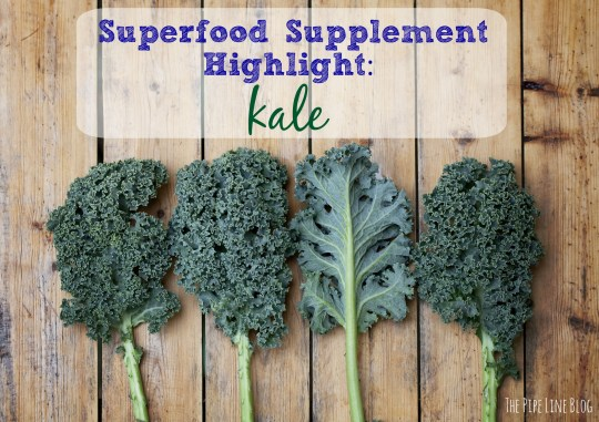 Piping Rock - The Pipe Line - Superfood Supplement Highlight: Kale