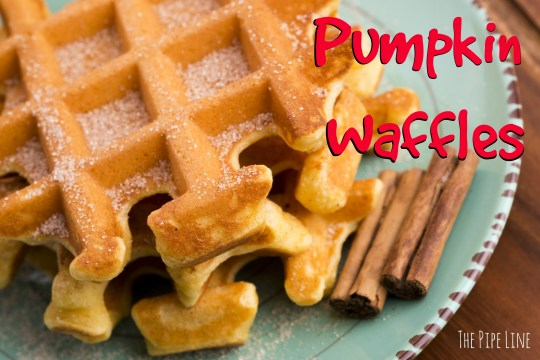 Piping Rock - The Pipe Line Blog - Recipe - Pumpkin Waffles - Gluten Free - Vegan