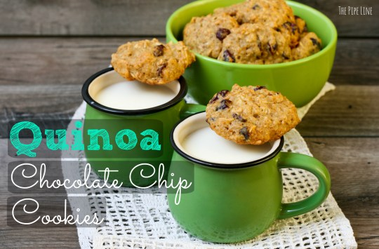 Piping Rock - The Pipe Line - Quinoa Chocolate Chip Cookies Recipe - Vegan - Gluten Free