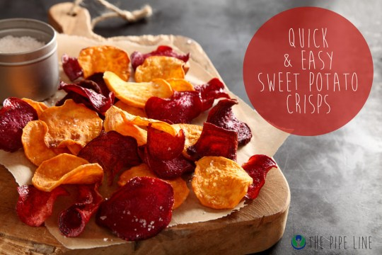 Piping Rock - The Pipe Line - Sweet Potato Chips - Recipe