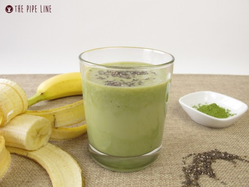 Piping Rock - The Pipe Line Blog - 5 Smoothies for Plant Lovers - Vegetarian Recipes - Green Tea Chia Smoothie