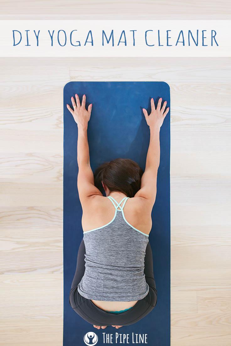 DIY Yoga Mat Cleaner for Pinterest