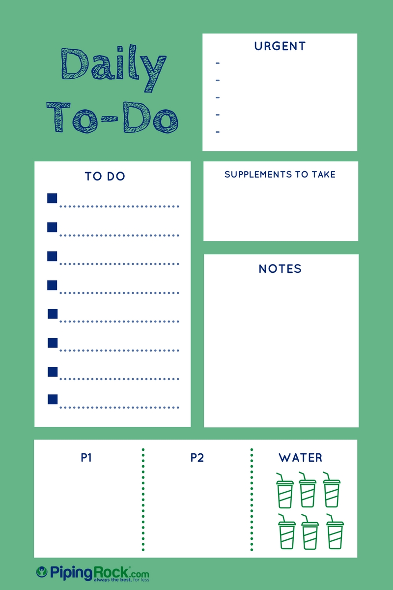 Blog Post on To-Do Lists- 3.13.2017