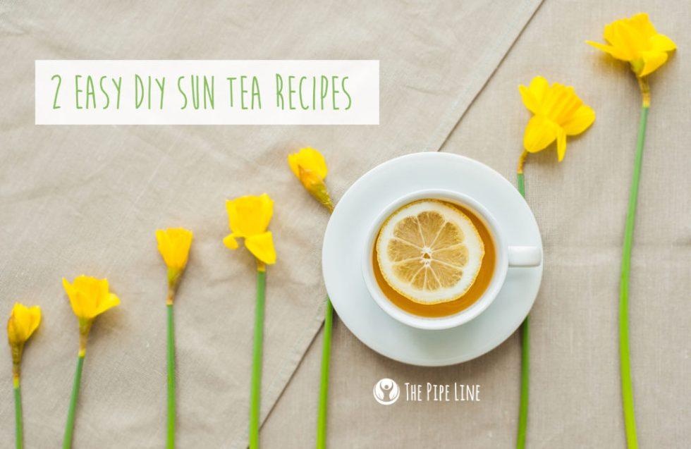 DIY Sun Tea